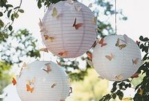 LANTERNS AS PARTY DECOR