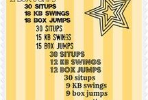 Workouts for home!