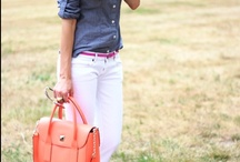 Chambray / I am addicted to Chambray and denim tops and am always looking for new ways to wear them! / by Jean Hendrix