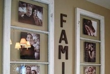 Craft Ideas - Photos / Ideas for displaying photos, canvas art and picture transfers