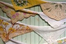 Buntings and Garlands / swaying motions with a decor.  / by Delia Fontanes