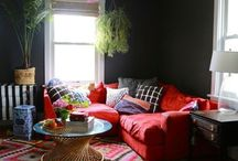 B&W furniture and eclectic interiors / Interior with a twist