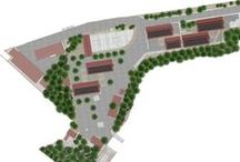 Holistic Site Masterplan / Based on our 6 guiding principles we developed a schematic masterplan with a phased strategy to accommodate the various elements required to make Centre Rosalie Javouhey fully accessible for the local school children.