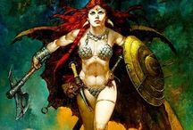 Art/Cosplay ~ Red Sonja
