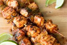 Kabob & Skewer Recipes / by Linda