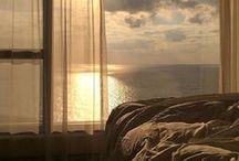 окно в море