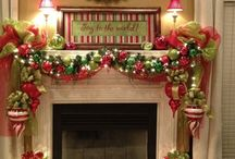 Fireplace Mantel and Shelves / by Michele Antellocy Gonzalez