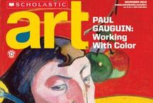 Scholastic Art Magazine for Middle School and High School / Art Projects