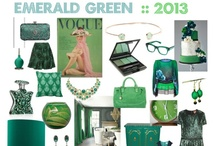 EMERALD GREEN: Pantone Colour of the Year 2013
