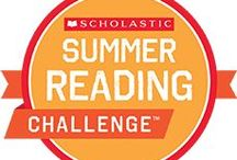 "The Scholastic Summer Reading Challenge / This board is all about summer reading! Join the Scholastic Summer Reading Challenge, a FREE online reading program for kids, dedicated to stopping the ""summer slide."" Learn more at www.scholastic.com/summer"