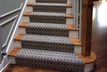 Stairs, Stairs and More Stairs / A stair runner is a great way to dress up any home. Take a look at our gallery for inspiration!