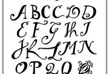 Calligraphy - Lettering