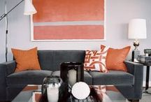 HOME STYLING: Vintage style Lounges and dining rooms / Our home and others that inspire me... ww.katebeavis.com