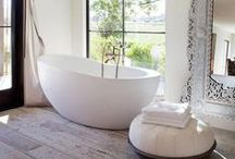 HOME STYLING: Bathrooms and WC's / Our home and others that inspire me... www.katebeavis.com