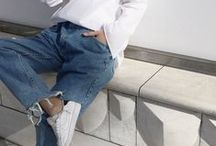 casual + style / jeans and tees