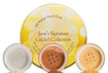 Gilded Touch / Gold, gold, gold.  Yellow, White, Rose and mixed metals that inspire makeup, hair and skin, DIY projects and fashion.  Find your latest look here! / by jane iredale