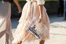 My Carrie Bradshaw Tulle Skirt Moment / Because everyone deserves one Carrie Bradshaw moment in their lives...
