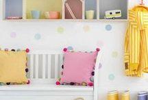 HOME STYLING: Inspiration for vintage girls room / Girls room inspo for www.katebeavis.com