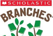 Scholastic Branches / Have a young reader who isn't quite ready for traditional chapter books? Introduce them to #ScholasticBranches, our line of illustrated early chapter books for growing readers ages 5-8!