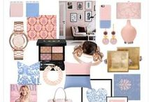 Pantone Colour of the Year 2016: Rose Quartz & Serenity / by Nancy Georges