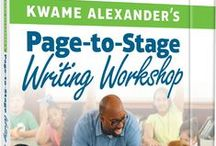 Kwame Alexander's Page-to-Stage Writing Workshop / Welcome to the Page-to-Stage Writing Workshop Gallery!  Schools from across the country have created books using Kwame Alexander's Book-in-a-day program. Take a look at a small sampling of the beautiful covers that were created for these books.  Learn how to set up your own student-run publishing program at scholastic.com/pagetostage.