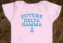 Legacies & Anchor Boys / A legacy is defined as the daughter, step-daughter, sister, step-sister, grand-daughter, or step-grand-daughter of an initiated Delta Gamma sister. While they are in no way guaranteed a bid to Delta Gamma, they are given special attention during recruitment. We also love our little anchor boys, whom we all know will grow up and marry a DG!  / by Delta Gamma Fraternity
