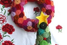 Christmas crafts, sewing, crocheting, knitting,etc. / by Deanna Zimmer