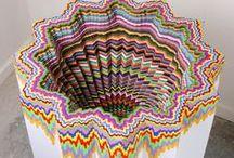 colour (sculptures, installations) / by 3L Hodumont