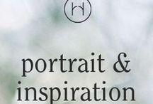 portrait & inspiration / Inspiration für Portraits. Mut und Freude neu zu sehen.