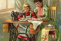 Vintage Sewing Images & supplies / by Linda Gatliff