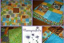 Make a Disappearing 9 Patch Quilt / Nanny gives step by step instructions for a Disappearing 9 Patch Quilt using Charm Squares
