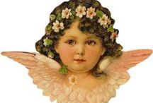Vintage Cherub, fairy & angel Images / by Linda Gatliff