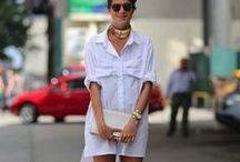 Trend: Shirtdress / Spring / Summer 2014 Trend.