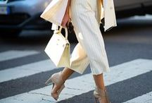 Trend: Cropped Culottes / Spring/Summer 2014 Trend
