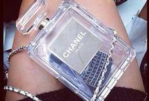 Chanel No.5 Perfume Clutch