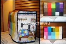 Make a Sewing Machine Cover / Nanny gives detailed guide to making a Sewing Machine Cover from squares