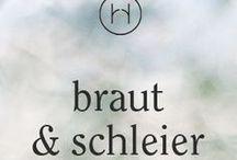 braut & schleier / Ideen und Inspiration für wunderschöne Fotos mit Brautschleier.