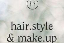 hair.style & make.up / Inspiration und Ideen für wunderschöne Frisuren, Haarschmuck und Schleier.