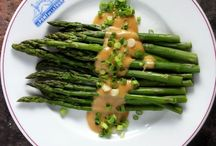 recipes - vegetables/ asparagus / by Connie Frandsen