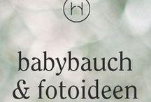 babybauch & fotoideen / Ideen für Babybauchfotos und schönes Outfit dazu.