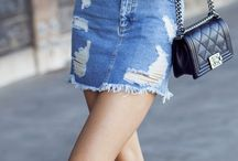 Trend: Denim Skirt