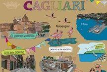 Cagliari: la città del sole / Un salto in città tra attrazioni e luoghi suggestivi da visitare. Scorci antichi tra i quartieri storici, vie dello shopping e parchi e tanto svago per annoiarsi mai. Girovaghiamo insieme nella città del sole! #unsaltonellacittàdelsole #girovagando #cagliari