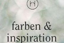 farben & inspiration / Farbideen für eure Hochzeit. Doch nicht nur für die Hochzeit!