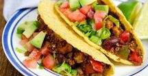 Vegan TACO Tuesday / Vegan recipes to celebrate Taco Tuesday!