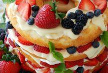 Dessert ;D / by Tina Olivier