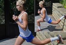 Physical Fitness / Running and working out! / by Jennifer Bevill