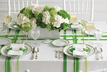 Green Color Scheme / by Posh Petals & Pearls
