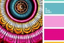 Colour / Inspiration for colourways for crafting.