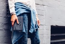 My Style / I love jean and jackets, tailored seams, street style. Long and lean lines. Fashion of contemporary, sophistication AND Boho chic.