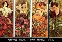 Art of Alfonse Mucha / by ~Singing A New Song~